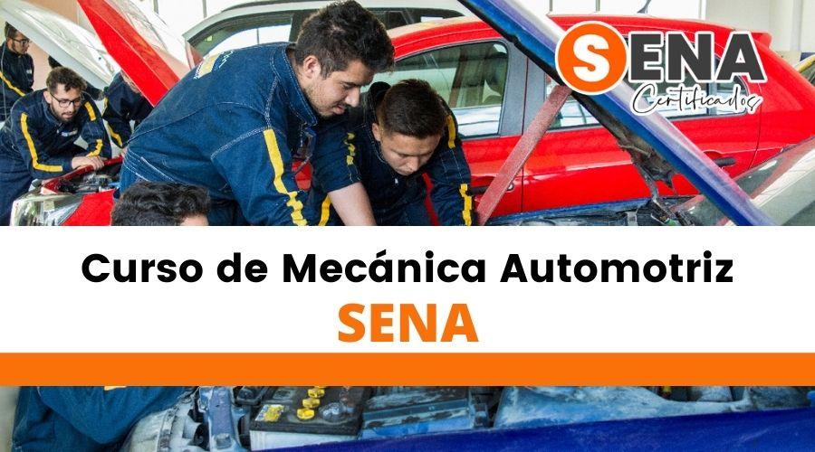 Curso en Mecánica automotriz Sena