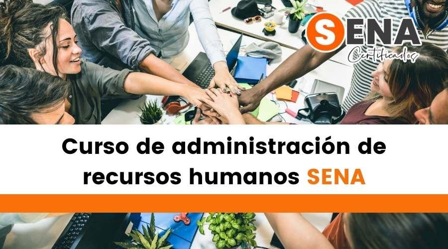 Curso de administración de recursos humanos SENA