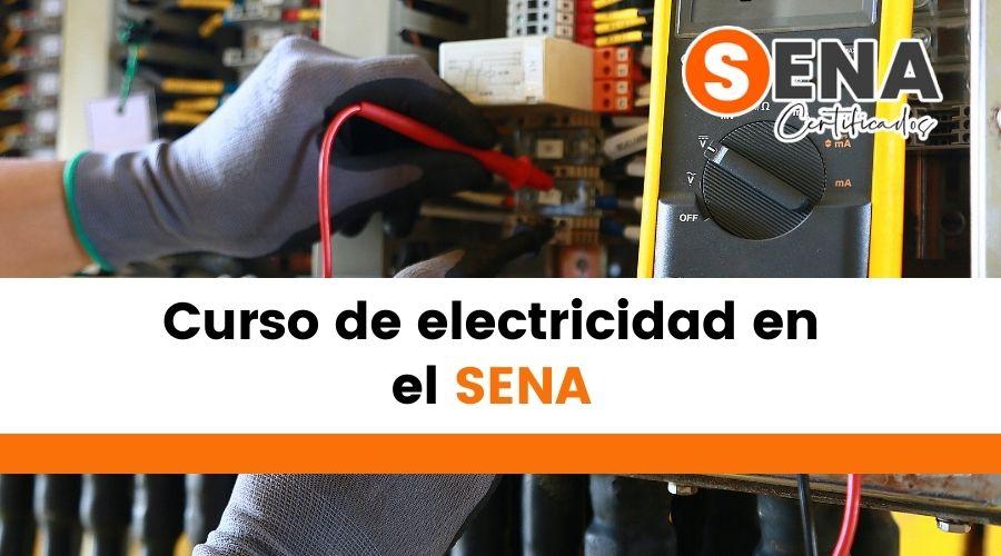 Curso de electricidad en el SENA