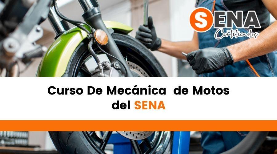 Curso de mecánica de motos Sena