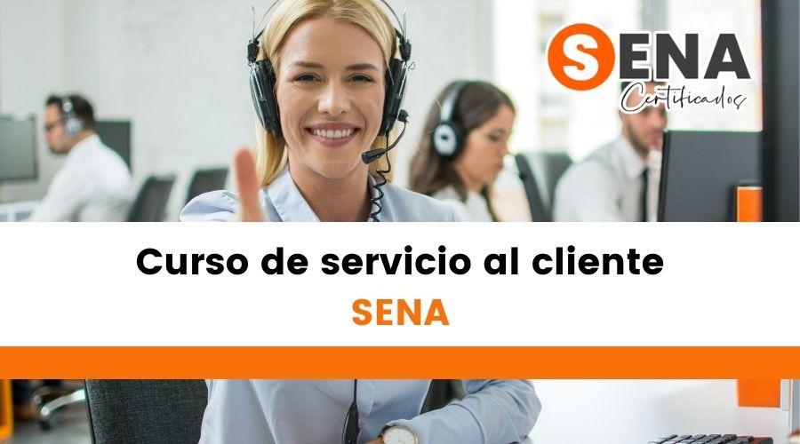 Curso de servicio al cliente Sena